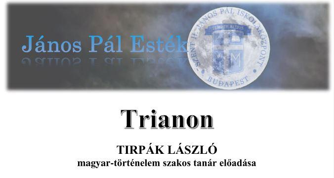 JánosPál Esték - Trianon